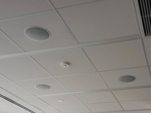 ceiling speakers can be used for eavesdropping