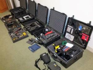 TSCM bug sweep equipment