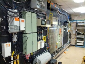 Finding wiretap in MDF telecom room