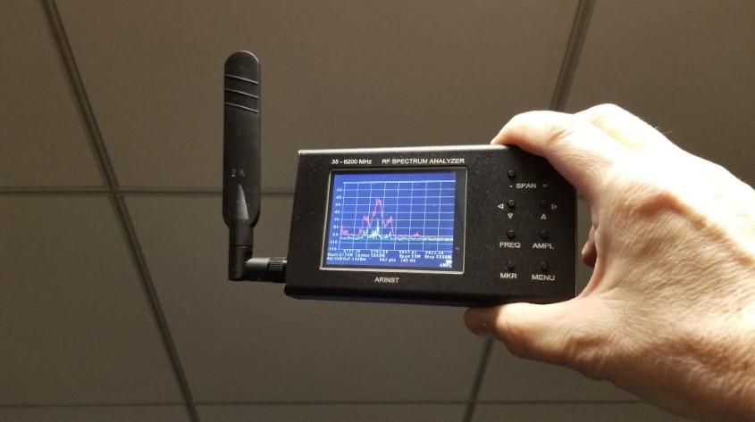 Tech report: ARINST SSA-R2 handheld spectrum analyzer